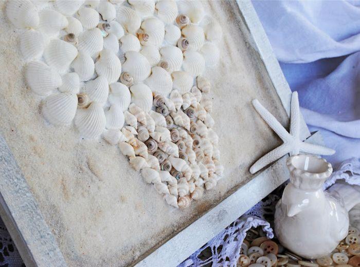 13 идеи начало декор, използващи морски раковини