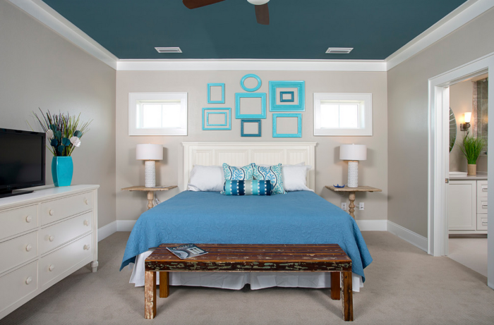 13 практически примери за декорация на дома, с помощта на празни рамки за картини