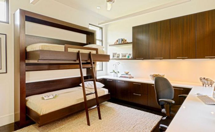 14 Stunning Bunk Beds Arrangement Ideas