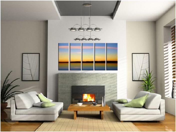 16 оригинални картини и панели, които да ви помогнат да създадете уютна атмосфера в интериора