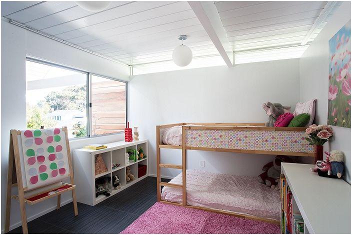 17 готини идеи за дизайн спалня детска в стила на Mid-Centry модерна