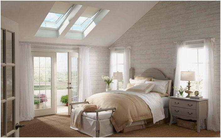 17 Schöne Dachfenster Für Ein Interessantes Design Schlafzimmer ... Schlafzimmer Cremefarben