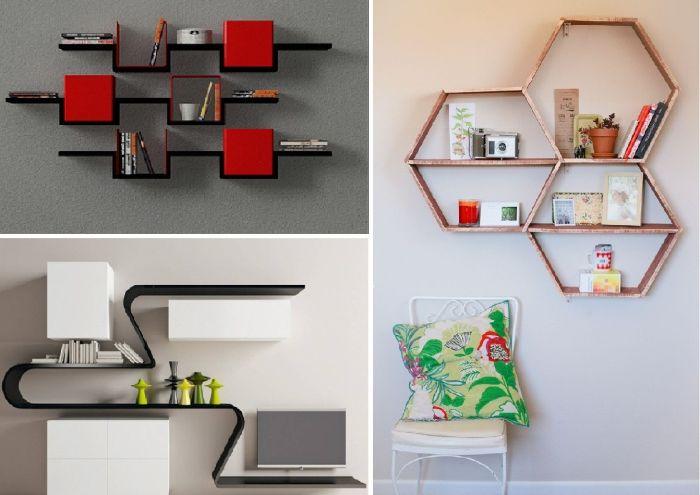 17 страхотни идеи за модерен дизайн рафтове