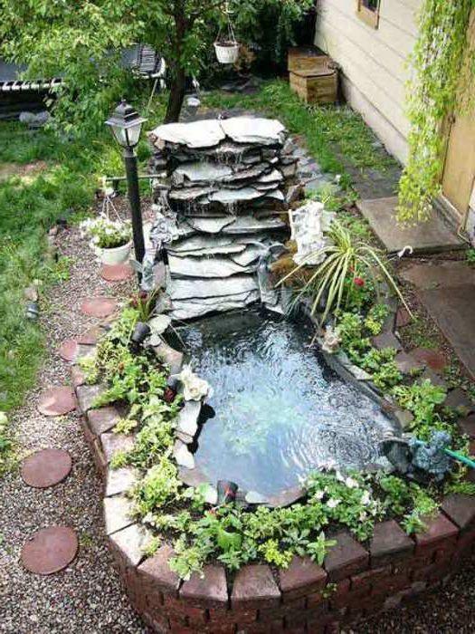 Trädgård trädgård damm : 19 stora idéer av konstruktionskonstgjorda vattenförekomster för ...