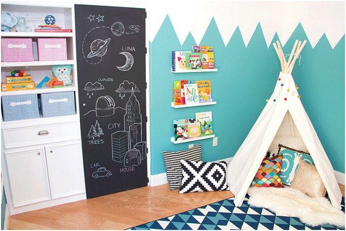 20-ярките примери за използването на ложите в детската стая