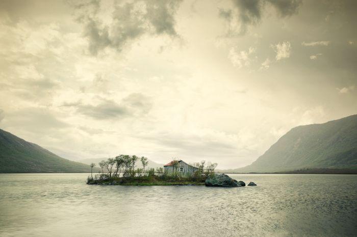 20 красиви къщи далеч от шумния суетата на светското
