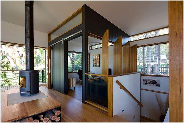 20 мулти-функционален и стилен хол с телевизор област