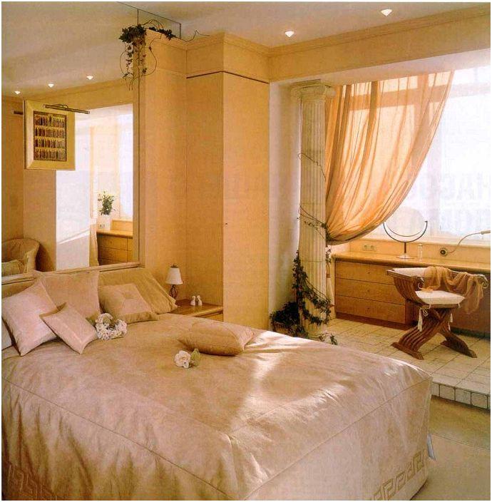 20 удобни и практични възможности съчетават лоджия с една стая