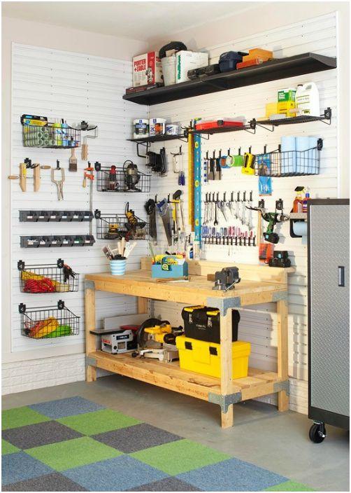 20 страхотни идеи за рационална организация на пространството в гаража