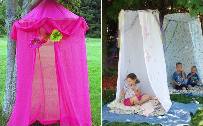 A tent for children