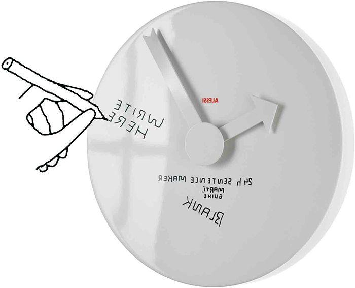 25 оригинален стенен часовник, който ще украсят всяка стая