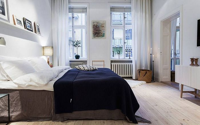 30 невероятни спални в скандинавски стил от най-добрите дизайнерски студия на света