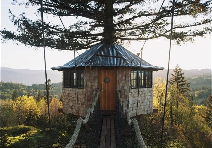 Treehouse: 27-годишен олицетворява реалността на детска мечта