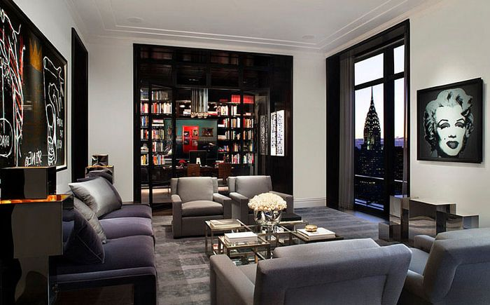 Living in New York apartment by Mark Cunningham