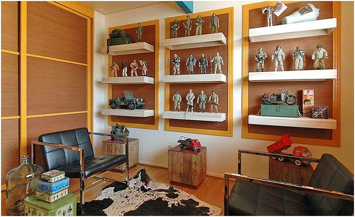 45 идеи за организацията на идеалната лента мъжки в къщата