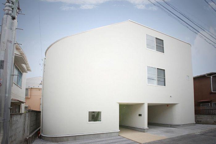 5 много необичайни къщи, живеят с това, че не всеки се осмелява