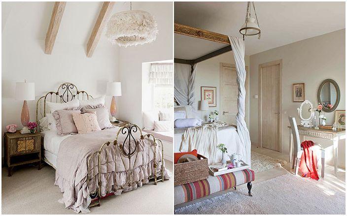Camera da letto pi originale nello stile di shabby chic man with camere country chic - Camere da letto country shabby ...