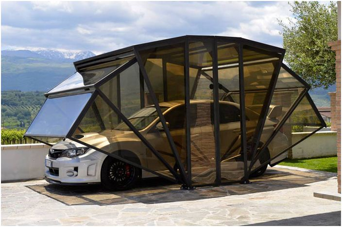 Алтернативен гараж: мулти Gazebox