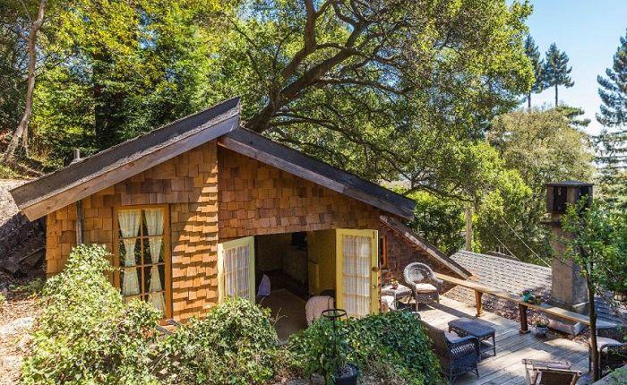 Компактен и удобен: къщата, преустроен гараж