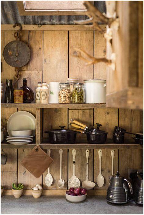 Рустик шик: отличен пример за това как да направим уютна къщичка
