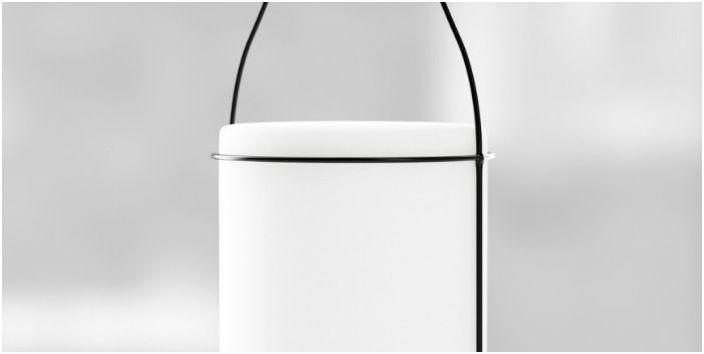 Две мнения по ретро: Дизайнът осветително тяло, вдъхновени от бутилки и консервни кутии