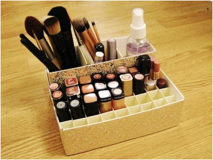 козметика за съхранение: 17 очарователни и стилни идеи