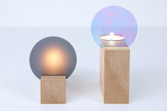 Играя със светлина и отражение в оригиналната колекция от аксесоари за дома
