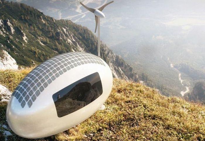 Ekokapsula: футуристичен мини-къща, която може да се вземе на пътешествие