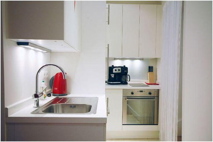 Стилни идеи за малки апартаменти: 51 кв. М в Париж
