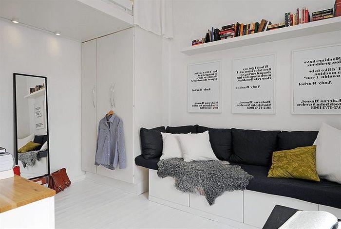 Как да си направим ергенско жилище, ако площта му е само 17 квадратни метра?