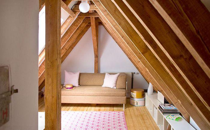 Как да превърнем тавана в хола