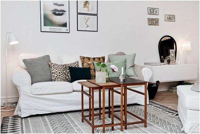 Как да направим апартамента от стария недвижими бонбони: реален пример от Швеция
