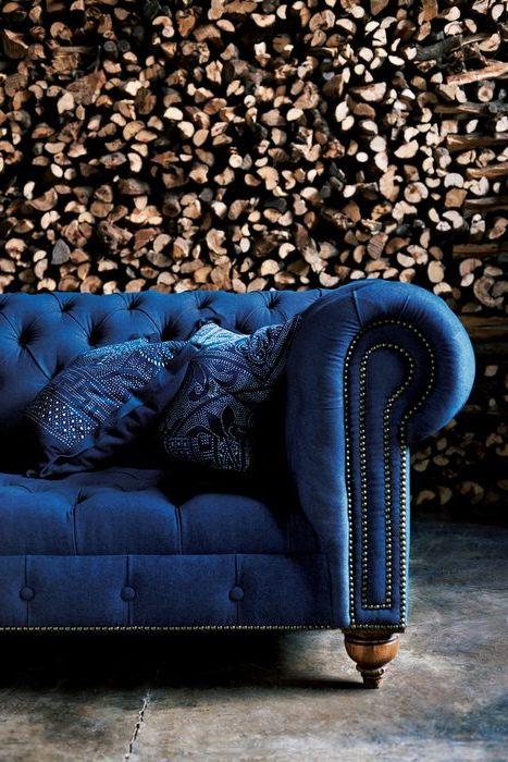 Как да се съчетаят нюанси на синьо и кафяво интериор: съвети и 27 очарователни примери