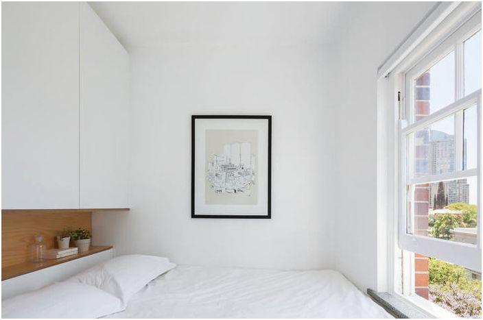 Как да се скрие едно легло в odnushke, така че той не забеляза гостите реален пример от Австралия