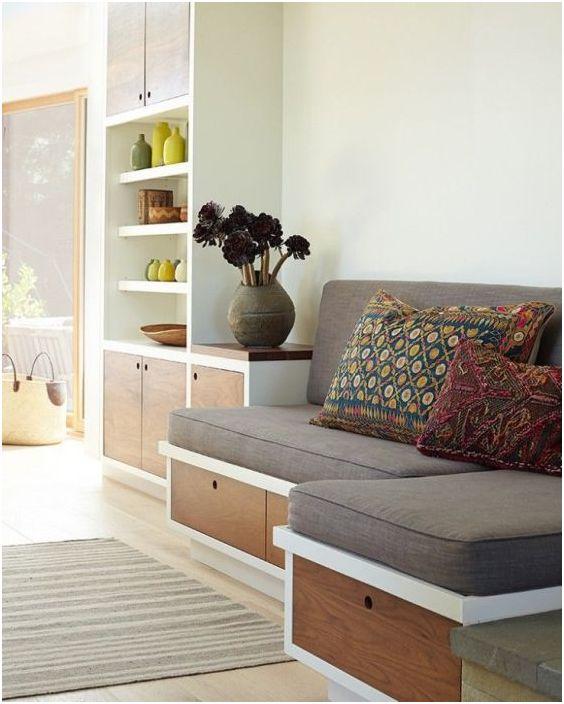 Как да изберем легло за малък хол: 10 полезни препоръки