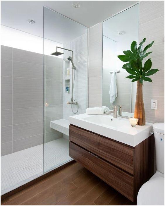 Как да изберем огледало в банята: 15 полезни съвети и очарователни примери