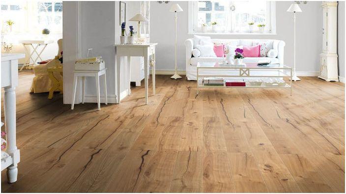 Как да изберем подови настилки: съвети за тези, които искат красива етаж