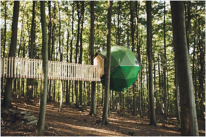 Къмпинг в дърветата: хижи - една успешна алтернатива на палатки