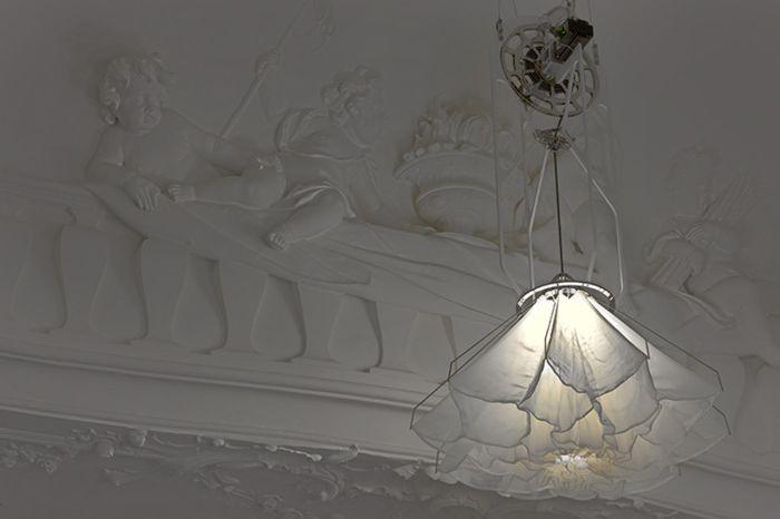 """Kinetic лампи, които """"цъфтят"""", както цветята"""
