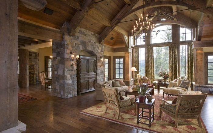 Living in a rustic style