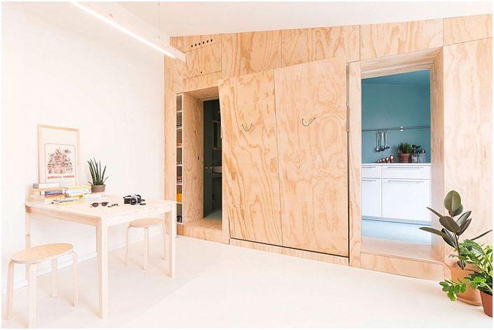 Апартамент в Милано: 28 m2 щастие за бакалавър