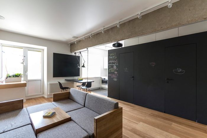 Apartment in Moscow, 80 square meters