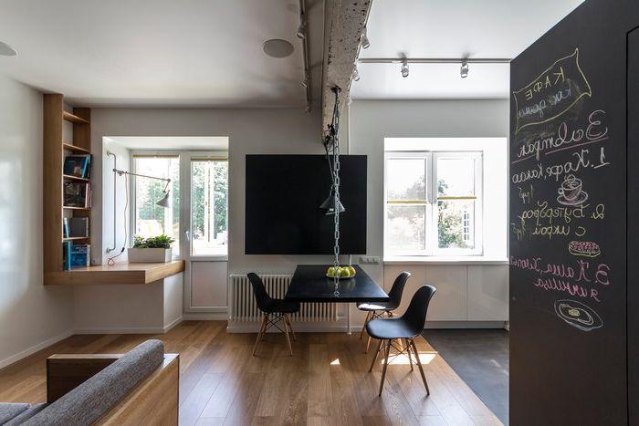 Loft в апартамент: стилен апартамент в Москва
