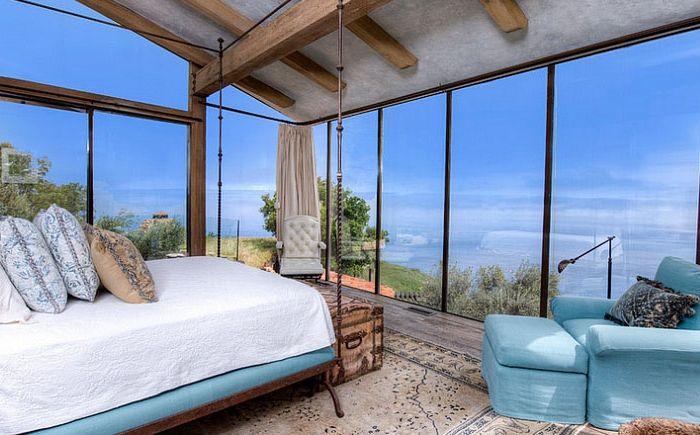 Der Zauber Des Mediterranen Stil Im Innenraum Eines Modernen Schlafzimmer