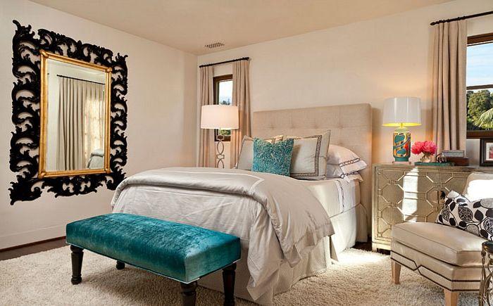 Stile mediterraneo all 39 interno di una camera da letto - Marocchine a letto ...