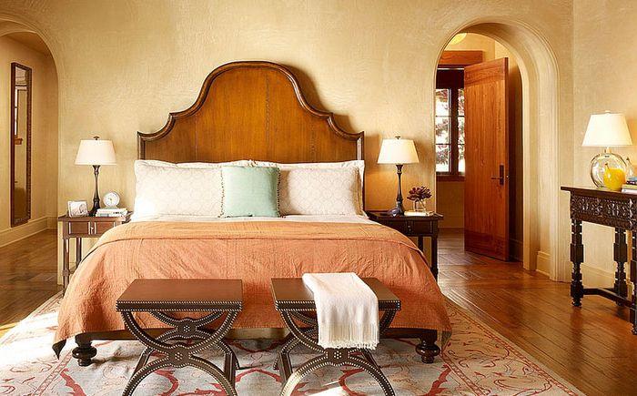 Slaapkamer Warme Tinten: Genle warme kleuren slaapkamer ? stockfoto ...