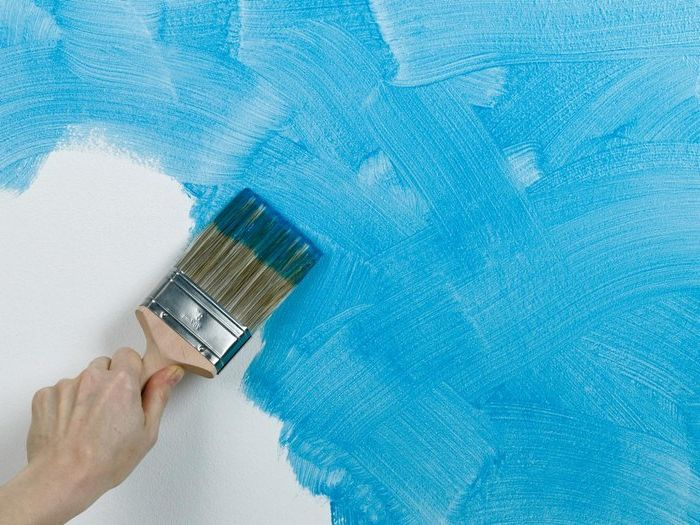 Method №9. The indiscriminate application of the adhesive paint