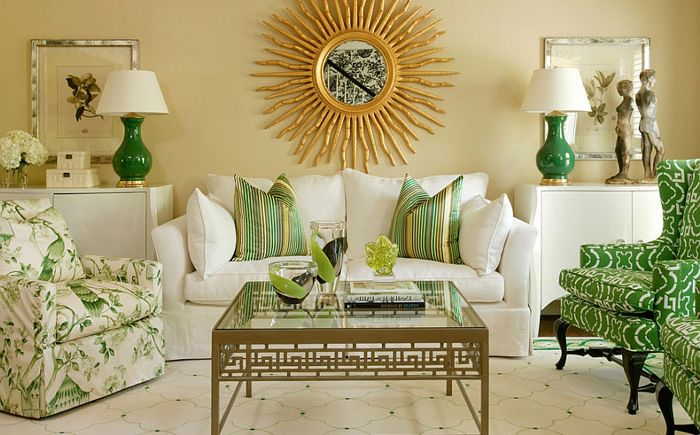 Interior living room by Tobi Fairley Interior Design