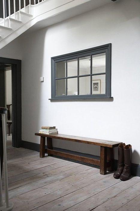 Прозорецът, който не присъства: тапицерия на прозореца в интериора