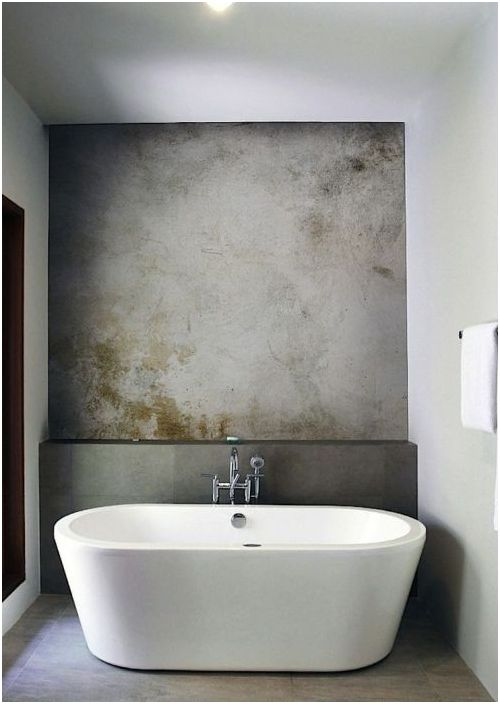 Украсяването бани и санитарен възел: 5 алтернативи на отегчен плочки